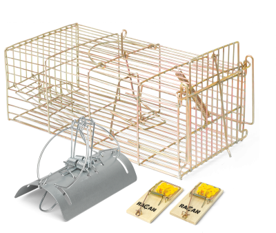 Rodent Traps, Stations & Cages