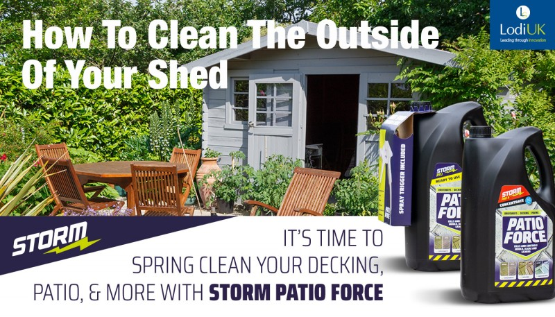 How To Clean The Outside Of Your Shed