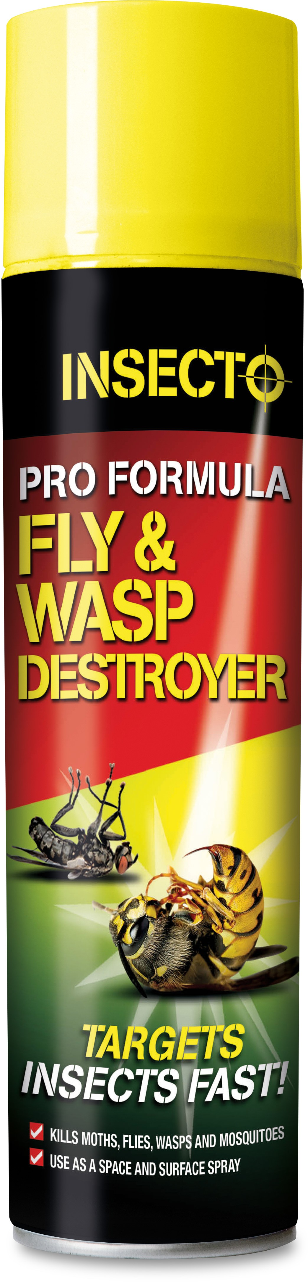 Insecto Pro Formula Fly & Wasp Destroyer 300ml