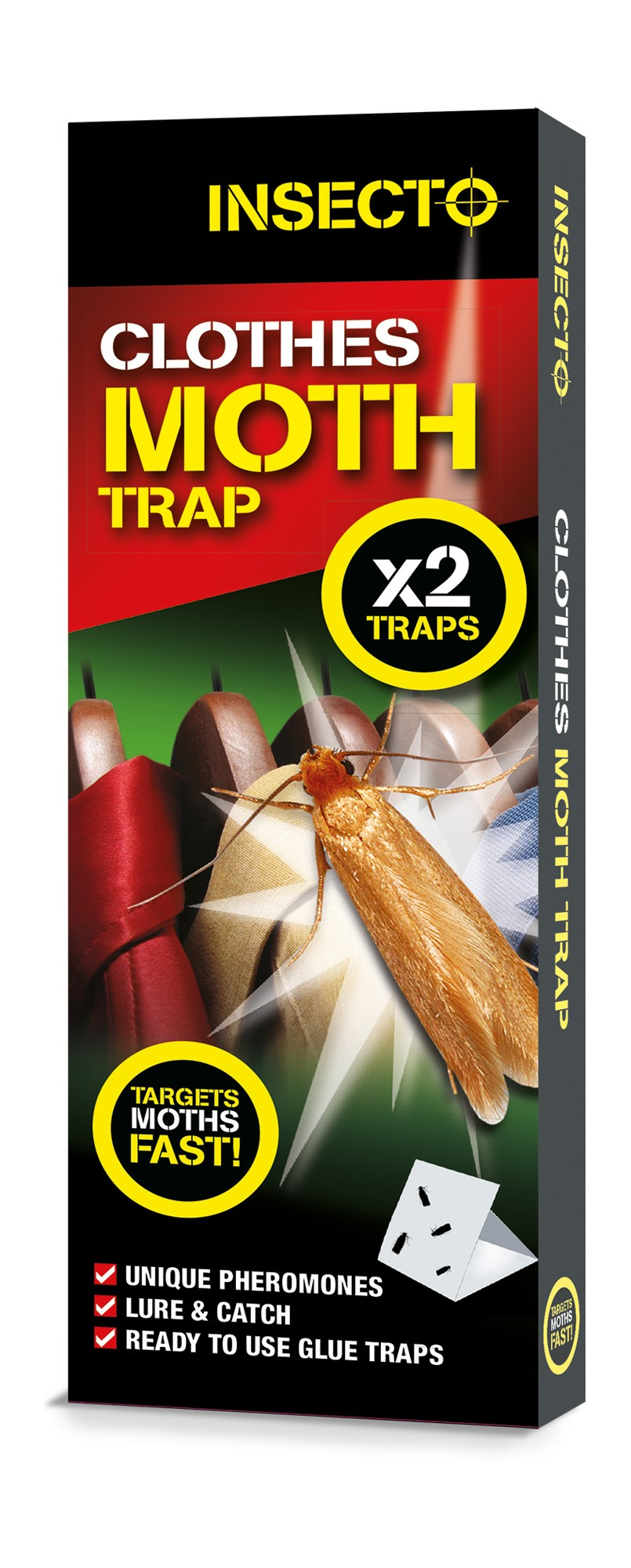 Insecto Clothes Moth Trap 2 Pack