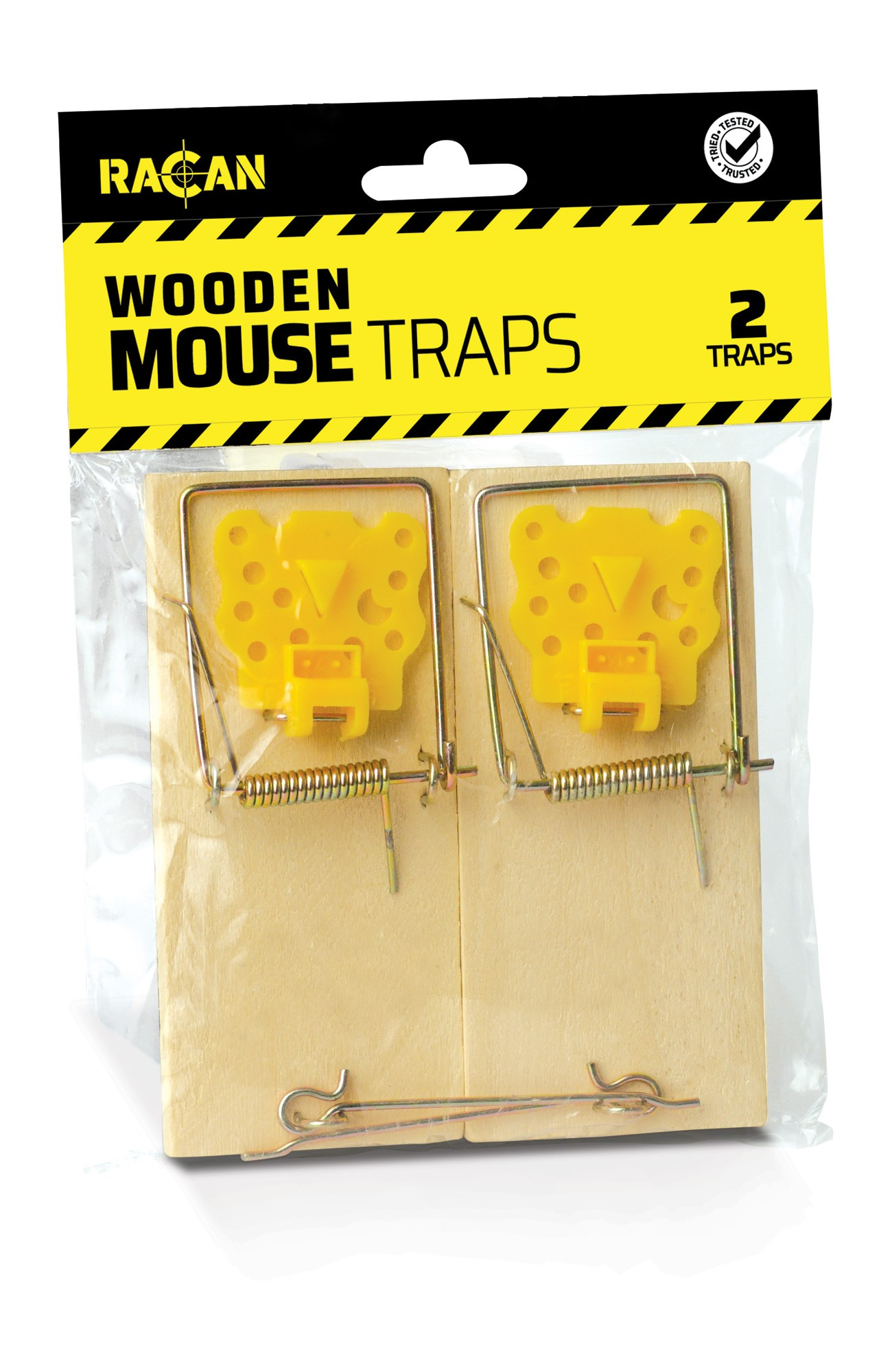 Racan Wooden Mouse Traps