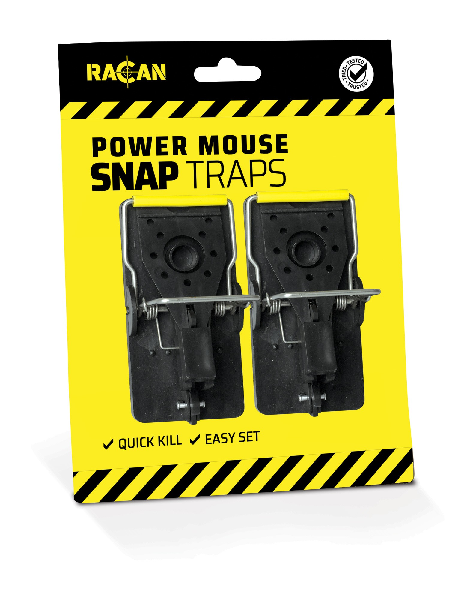 Racan Plastic Mouse Snap Traps