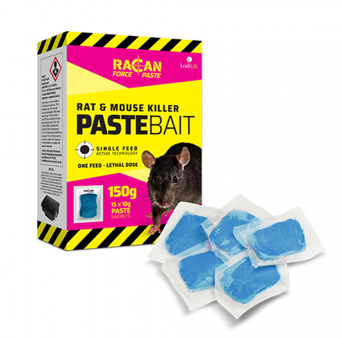 Racan Force Paste 150g Paste Sachets