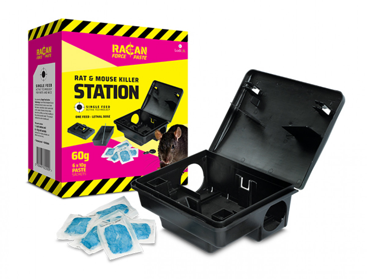 Racan Force Rat & Mouse Killer Station