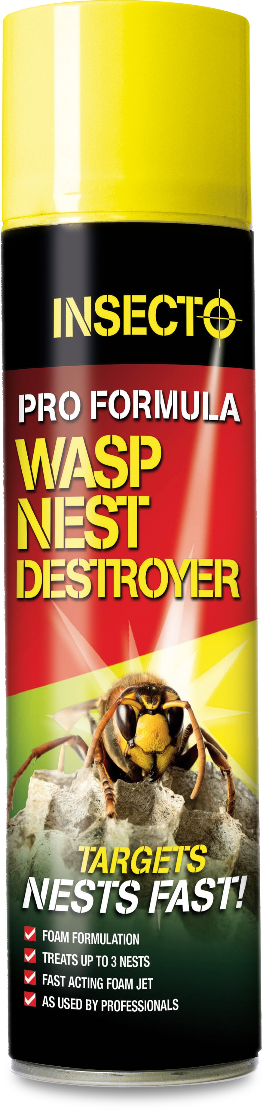 Insecto Pro Formula Wasp Nest Destroyer Foam 300ml